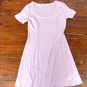 Vans t shirt dress lilac size medium NWT